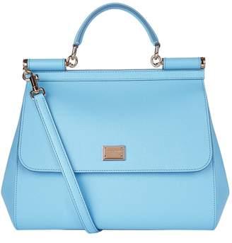 Dolce & Gabbana Large Sicily Top Handle Bag