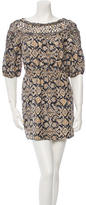 3.1 Phillip Lim Silk Ikat Dress