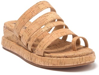 KORKS Maya Cork Wedge Sandal