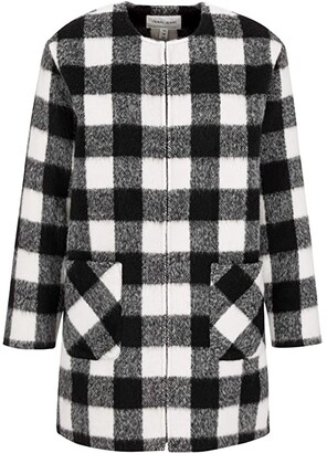 Tribal Duster with Crew Neck (Black) Women's Sweater