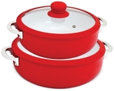 Imusa 2-Pc. Red Ceramic Caldero Set