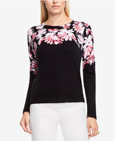 Vince Camuto Floral Sweater