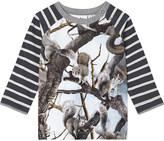 Molo Squirrel cotton T-shirt 3-24 months