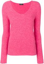 Twin-Set V-neck jumper - women - Acrylic/Polyamide/Polyester/Wool - XS