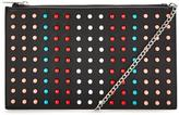 Very Colour Pop Studded Pouch Clutch Bag