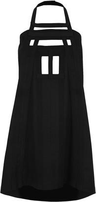 Rick Owens Cut-Out Apron Dress