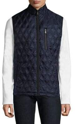 Rainforest Diamond Quilted Puffer Vest