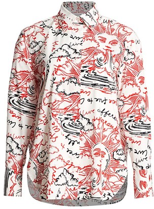 Stella McCartney We Are The Weather Cotton Shirt