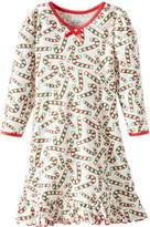 Sara's Prints Little Girls' Puffed Sleeve Nightgown