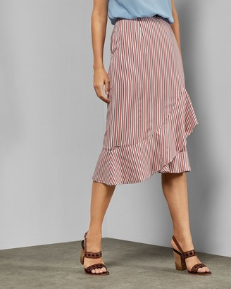 Ted Baker CORYN Layered striped skirt