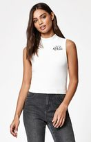 Young & Reckless Swirl Cropped Thermal Tank Top