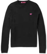 McQ by Alexander McQueen Slim-Fit Wool and Cashmere-Blend Sweater