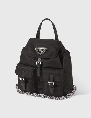 Prada Nylon Mini Backpack