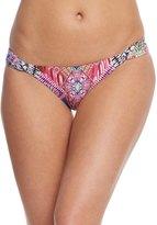 Pilyq Swimwear Hindi Fanned Teeny Bikini Bottom 8155835