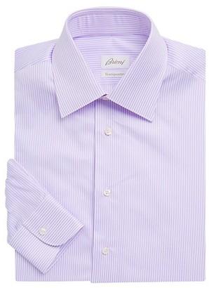 Brioni Thin Stripe Dress Shirt