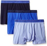 Kenneth Cole Reaction Men's 3-Pack Cotton Stretch Trunk