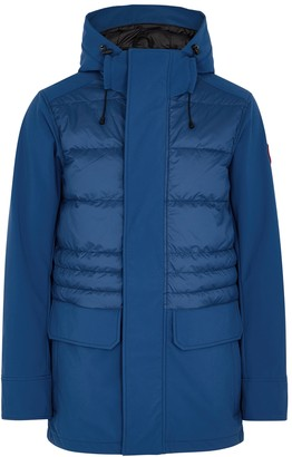Canada Goose Breton blue quilted Tri-Durance shell jacket