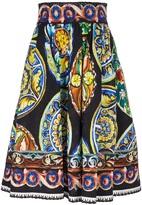 Dolce & Gabbana full pleated skirt