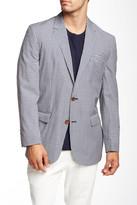 Robert Graham Dumont Check Two Button Notch Lapel Wool Blend Sport Coat
