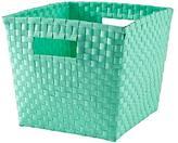 Strapping Cube Bin (Aqua)