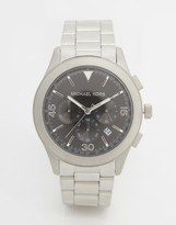 Michael Kors Gareth Chronograph Watch In Stainless Steel MK8469
