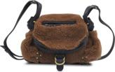 Jerome Dreyfuss Mini Twee hobo bag in sheepskin