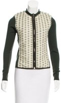 Authier Mohair-Accented Wool Cardigan