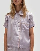 Araks Shelby Pajama Top in Purple