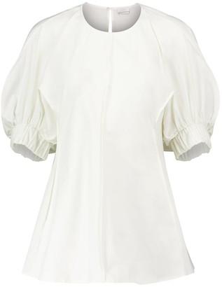 Deveaux Carrie cotton poplin blouse