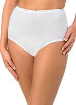 Jockey Womens Classic Brief 3 Pack Underwear Briefs 100% cotton
