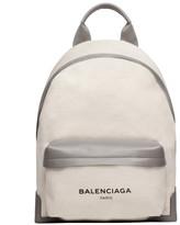Balenciaga Navy Backpack