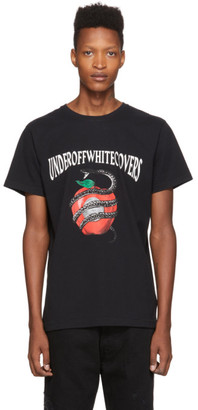 Off-White Black Undercover Edition Apple T-Shirt