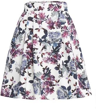 Erdem Ashanna Rose Blossom Skirt