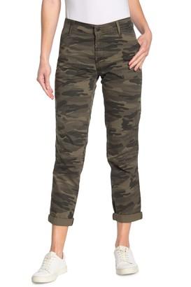 Lucky Brand The Cargo Camo Print Twill Pants
