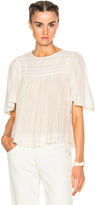 Etoile Isabel Marant Sara Lurex Cotton Top