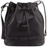 Longchamp 2.0 Large Leather Bucket Bag