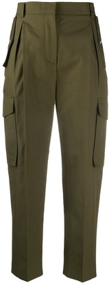 Alexander McQueen Cropped Cargo Trousers