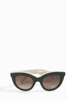 Victoria Beckham Layered Cateye Sunglasses