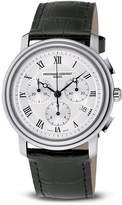 """Frederique Constant Classic"""" Quartz Chronograph Watch, 40mm"""