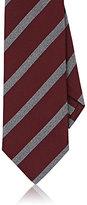 Isaia Men's Silk Repp Necktie-RED