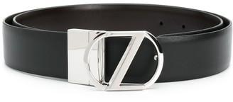 Ermenegildo Zegna Buckled Detail Belt