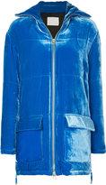 Dion Lee velvet puffer jacket