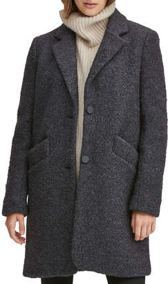 Andrew Marc Best Seller Pressed Boucle Coat
