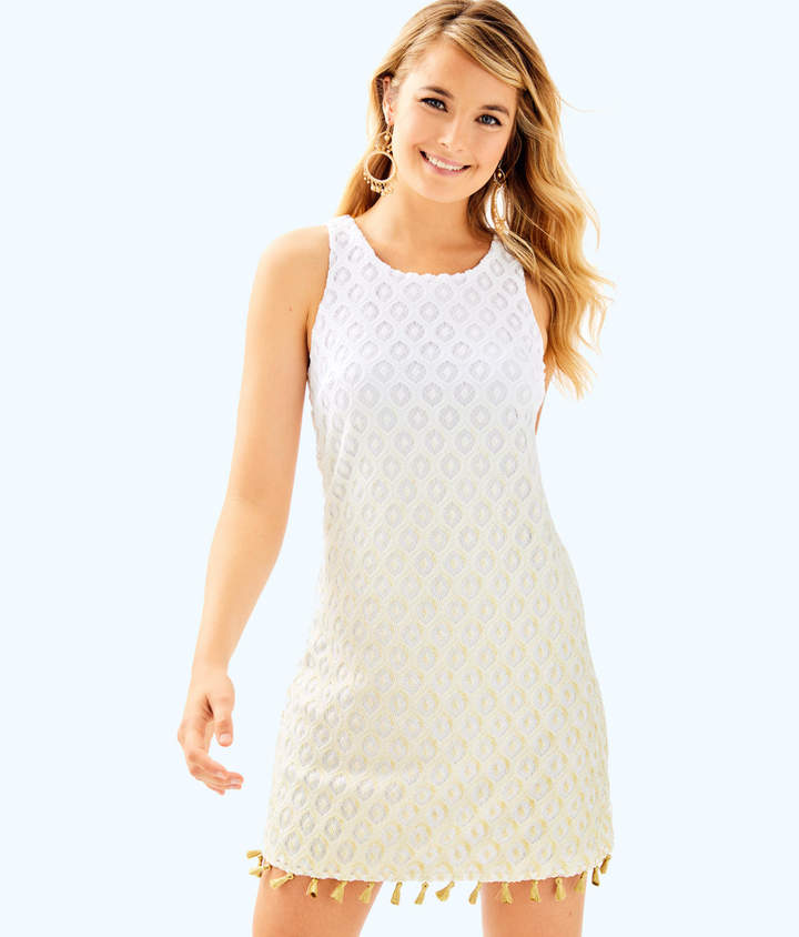 Lilly Pulitzer Womens Marquette Shift Dress