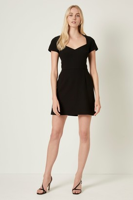 French Connenction Whisper Cap Sleeve Dress