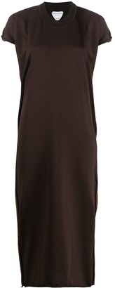 Bottega Veneta V-neck knit dress