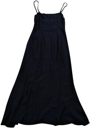 Loewe Black Silk Dresses