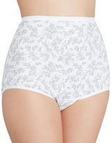 Vanity Fair Set of 3 Tailored Cotton Brief Panties 15318 (6-Medium, )