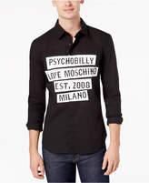 Love Moschino Men's Graphic-Print Shirt