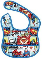 Bumkins DC Comics Starter Bib, Superman Comic, 6-9 Months by